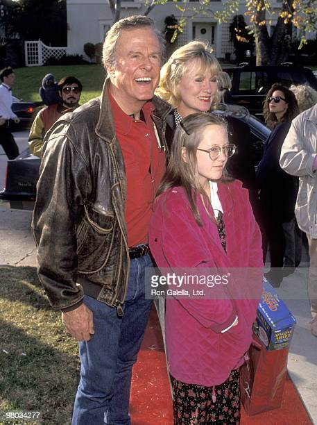 Actor Robert Culp, Candace Faulkner, and daughter Samantha Culp attend the Second Annual Toys for Tots Benefit for the Salvation Army on December 19,...
