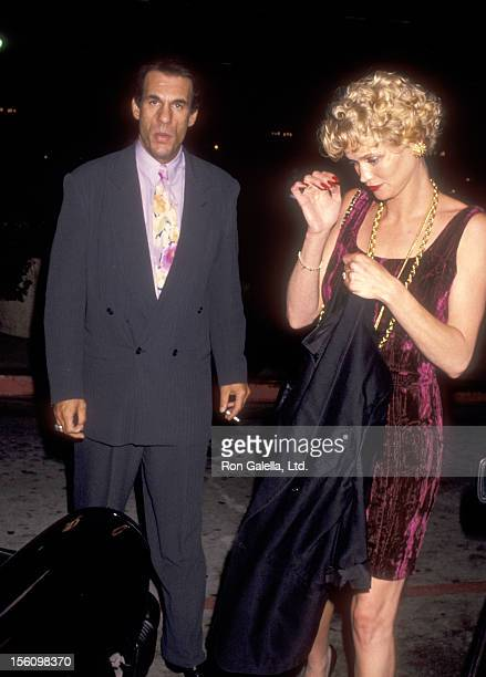 Actor Robert Davi and wife Christine Bolster attend the 'Terminator 2 Judgment Day' Century City Premiere on July 1 1991 at Cineplex Odeon Century...