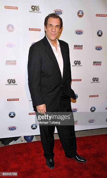 Actor Robert Davi arrives at the benefit grand opening of celebrity vehicle customization shop Galpin Auto Sports on October 18 2008 in Van Nuys...