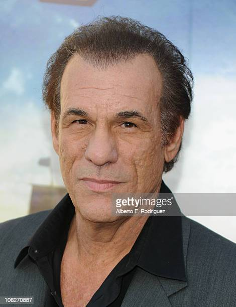 Actor Robert Davi attends the Warner Bros 25th anniversary celebration of The Goonies on October 27 2010 in Burbank California
