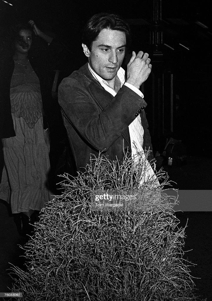 Robert De Niro Sighting in New York City - 1975 : News Photo