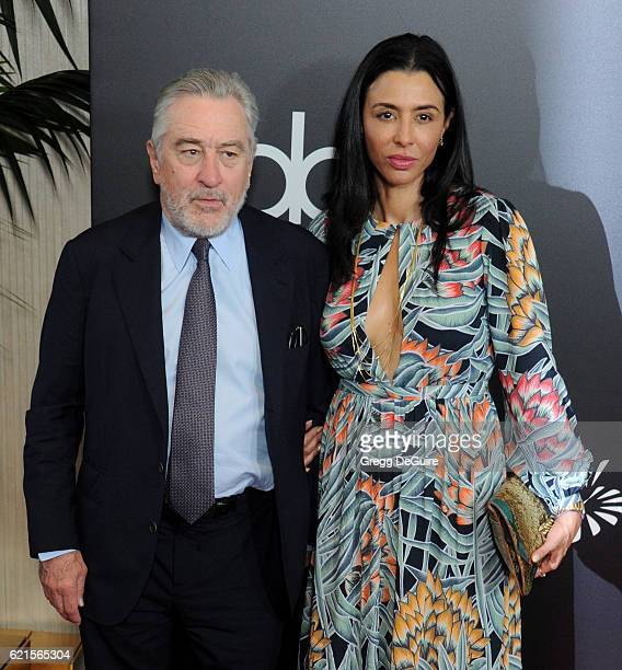 Actor Robert De Niro and Drena De Niro arrive at the 20th Annual Hollywood Film Awards at The Beverly Hilton Hotel on November 6 2016 in Los Angeles...