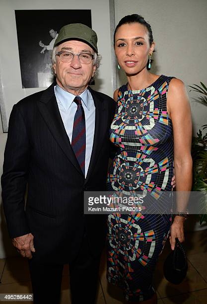 Actor Robert De Niro and Drena De Niro attends the 19th Annual Hollywood Film Awards at The Beverly Hilton Hotel on November 1 2015 in Beverly Hills...
