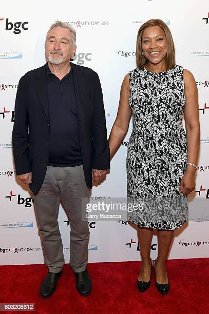 Actor Robert De Niro and Grace Hightower attend Annual Charity Day hosted by Cantor Fitzgerald BGC and GFI at BGC Partners INC on September 12 2016...
