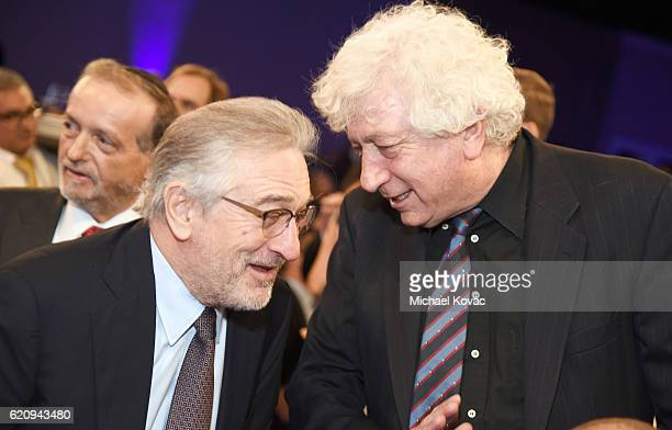 Actor Robert De Niro and producer Avi Lerner attend Friends Of The Israel Defense Forces Western Region Gala at The Beverly Hilton Hotel on November...