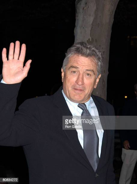 Actor Robert De Niro arrives at the 7th Annual Tribeca Film Festival Vanity Fair Party on April 22 2008 at the State Supreme Courthouse in New York...