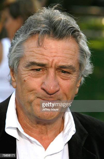 Actor Robert De Niro arrives at the ' Stardust ' Los Angeles premiere at Paramount Studio Theatre on July 29 2007 in Los Angeles California