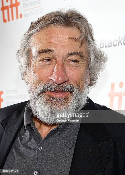 Actor Robert De Niro arrives at the 'Stone' Premiere held at Visa Screening Room At The Elgin Theatre during the 35th Toronto International Film...