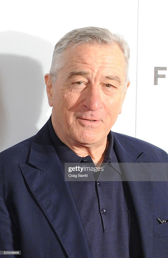 Actor Robert De Niro attends 'Equals' Red Carpet Premiere Night during Tribeca Film Festival at BMCC John Zuccotti Theater on April 18, 2016 in New York City.