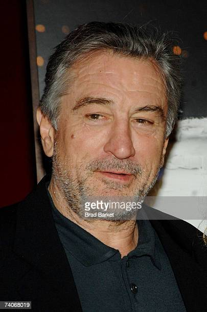 Actor Robert De Niro attends the 2007 Tribeca Film Festival awards show and wrap party held at Jing Fong during the 2007 Tribeca Film Festival on May...