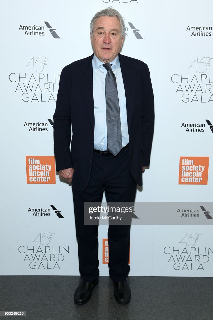 Actor Robert De Niro attends the 45th Chaplin Award Gala at the on April 30, 2018 in New York City.