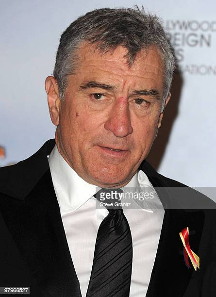 Actor Robert De Niro attends the 67th Annual Golden Globes Awards at The Beverly Hilton Hotel on January 17 2010 in Beverly Hills California
