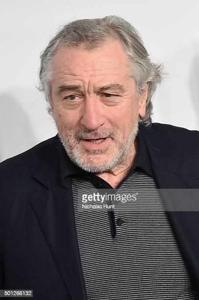 Actor Robert De Niro attends the 'Joy' New York Premiere at Ziegfeld Theater on December 13 2015 in New York City