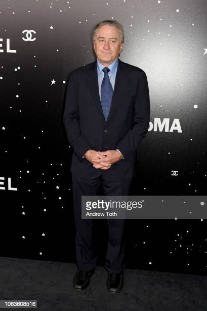 Actor Robert De Niro attends The Museum Of Modern Art Film Benefit Presented By CHANEL A Tribute To Martin Scorsese on November 19 2018 in New York...