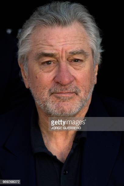 US actor Robert De Niro attends the new Nobu Hotel Marbella launch celebration on May 16 2018 in Marbella