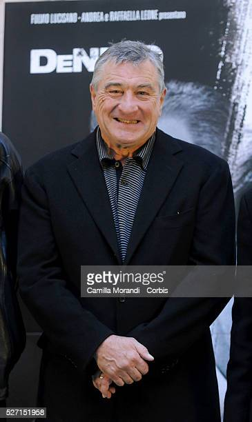 Actor Robert De Niro attends the premiere of 'Righteous Kill' in Rome