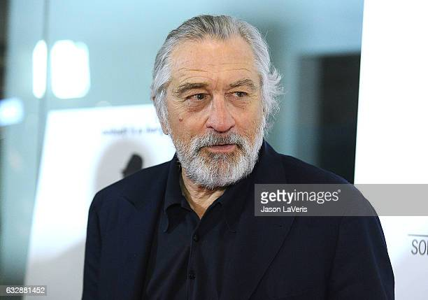 Actor Robert De Niro attends the premiere of The Comedian at Pacific Design Center on January 27 2017 in West Hollywood California