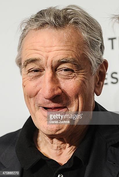 Actor Robert De Niro attends the Tribeca Film Festival Awards Night at Spring Studios on April 23 2015 in New York City