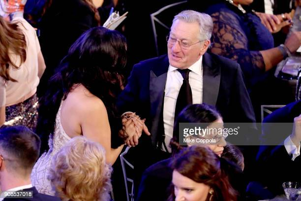 Actor Robert De Niro during the 24th Annual Screen Actors Guild Awards at The Shrine Auditorium on January 21 2018 in Los Angeles California 27522_014