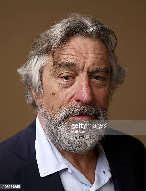 Actor Robert De Niro from 'A Night For Dying Tigers' poses for a portrait during the 2010 Toronto International Film Festival in Guess Portrait...