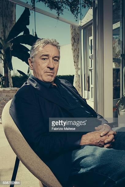 Actor Robert De Niro is photographed for The Hollywood Reporter on May 14 2016 in Cannes France