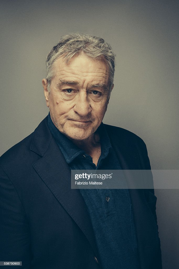 Actor Robert De Niro is photographed for The Hollywood Reporter on May 14, 2016 in Cannes, France.
