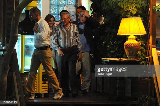 *EXCLUSIVE * Actor Robert De Niro is seen at 'da Nino' restaurant on June 11 2010 in Letojanni near Taormina Italy