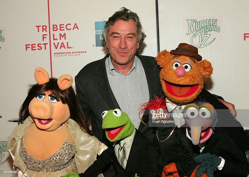 Actor Robert De Niro, Miss Piggy, Kermit The Frog, Pepe The King Prawn, Gonzo and Fozzy Bear attends the premiere of 'The Muppets Wizard of Oz' at the Tribeca FAMILY Festival. The FAMILY Street Fair will be this Saturday, April 30 from 10am to 6pm on Greenwich Street