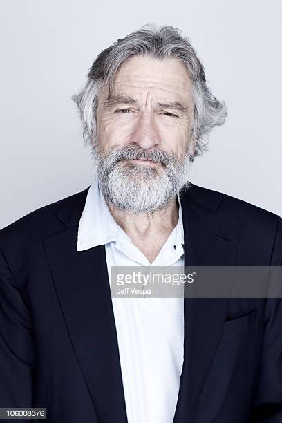 Actor Robert De Niro poses at a portrait session at the 2010 Toronto International Film Festival in Toronto CAN on September 10 2010