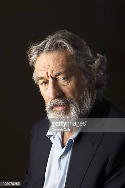 Actor Robert De NIro poses for a portrait session for the Los Angeles Times on September 10 Toronto CAN Published Image CREDIT MUST READ Carolyn...