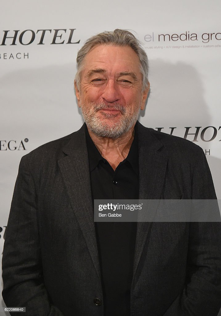 Actor Robert DeNiro attends Nobu Hotel Miami Beach launch VIP cocktail at Nobu Next Door on November 7, 2016 in New York City.
