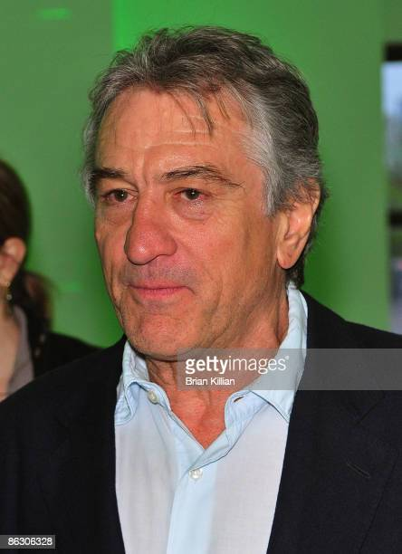 """Actor Robert Dinero attends the private screening for """"The Good Guy"""" at Tribeca Cinemas on April 30, 2009 in New York City."""