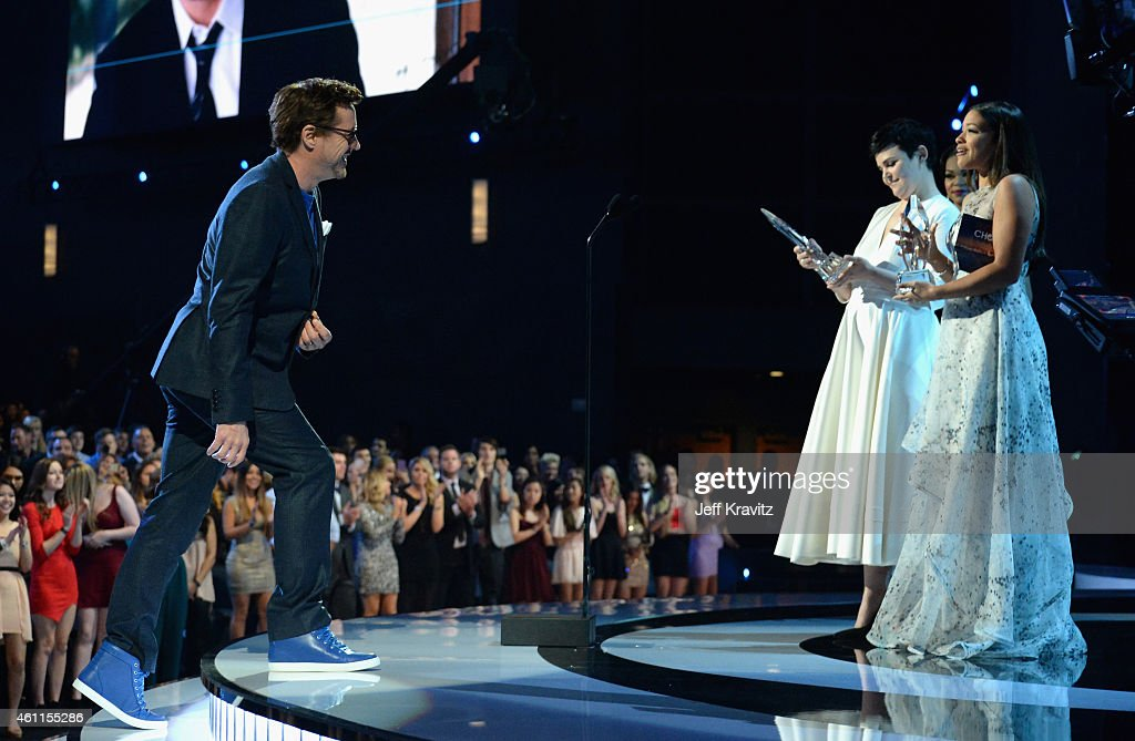 The 41st Annual People's Choice Awards - Roaming Show : News Photo