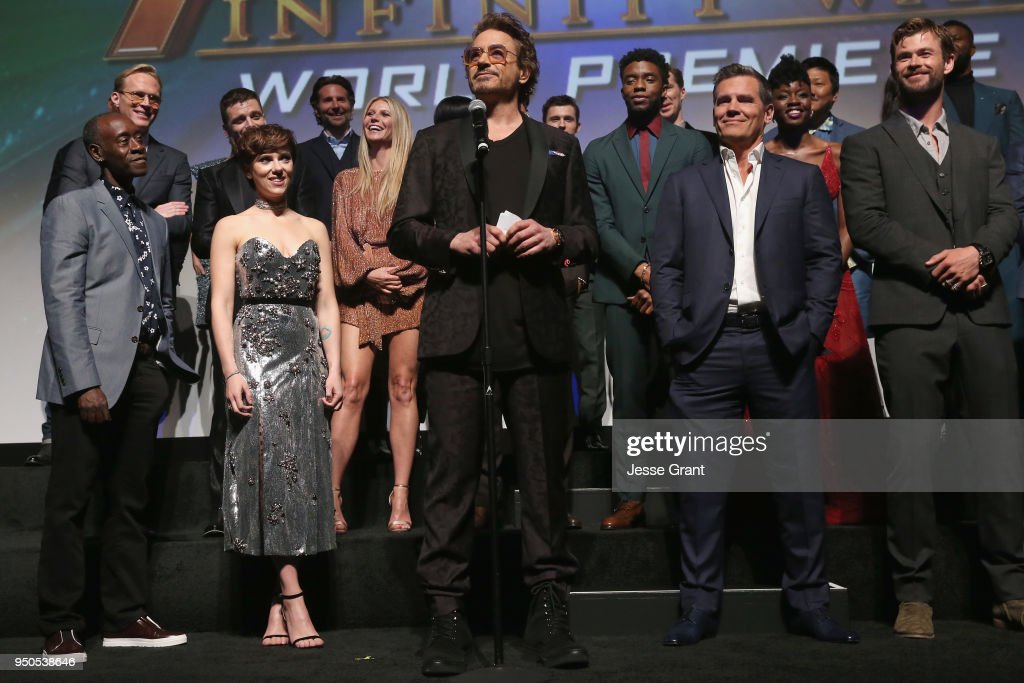 "Los Angeles Global Premiere for Marvel Studios' ""Avengers: Infinity War"" : News Photo"
