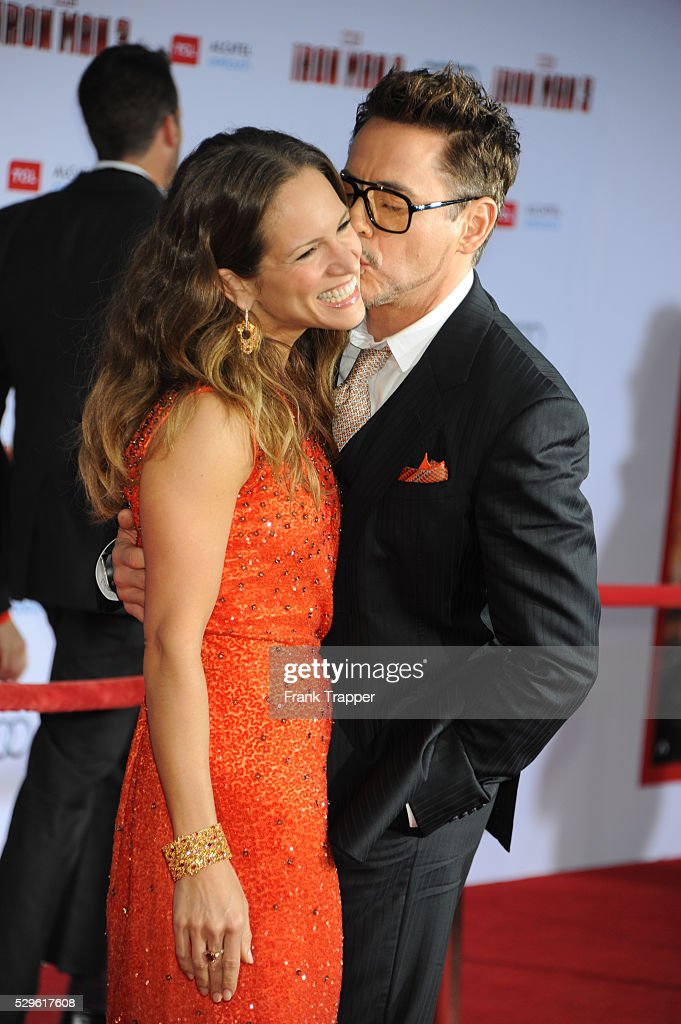 USA - Iron Man 3 premiere in Los Amgeles. : News Photo