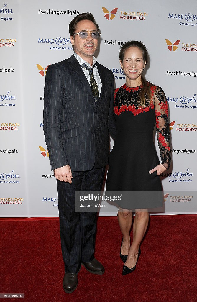 Actor Robert Downey Jr. and wife Susan Downey attend the 4th annual Wishing Well winter gala at Hollywood Palladium on December 7, 2016 in Los Angeles, California.
