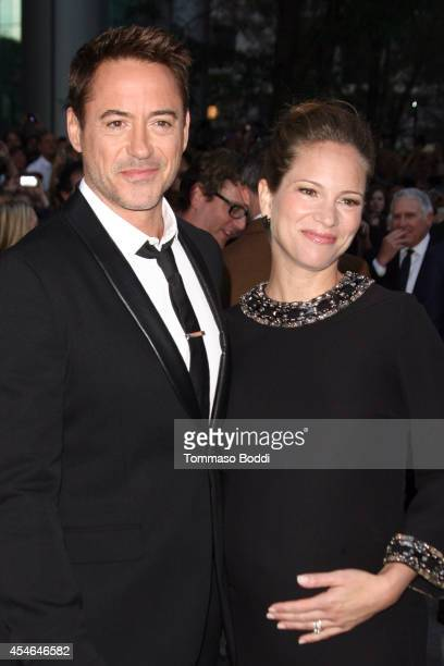 """Actor Robert Downey Jr. And wife Susan Downey attend """"The Judge"""" premiere held at at Roy Thomson Hall on September 4, 2014 in Toronto, Canada."""