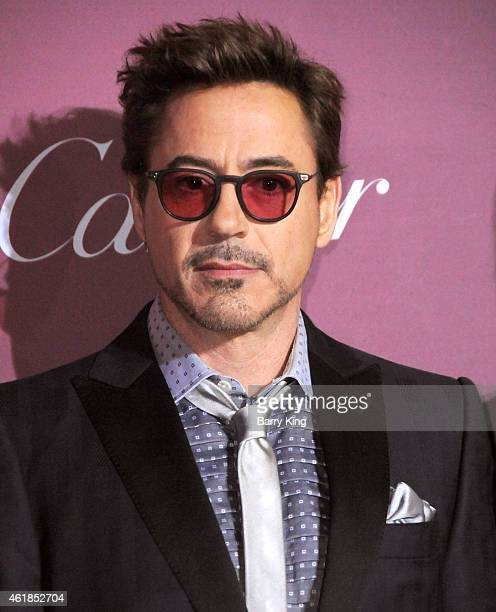 Actor Robert Downey Jr arrives at the 26th Annual Palm Springs International Film Festival Awards Gala Presented by Cartier at Palm Springs...