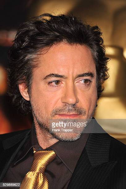 Actor Robert Downey Jr arrives at the 81st Annual Academy Awards�� Nominees Luncheon held at the Beverly Hilton Hotel