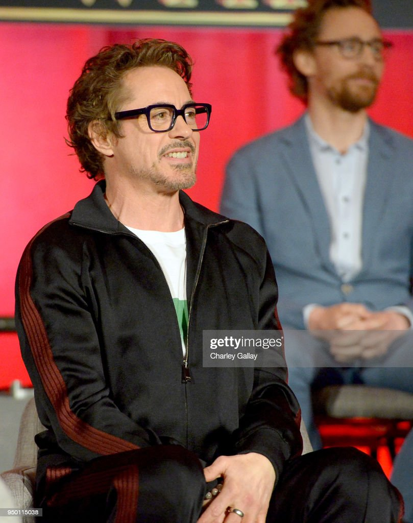 """Avengers: Infinity War"" Global Press Conference : News Photo"