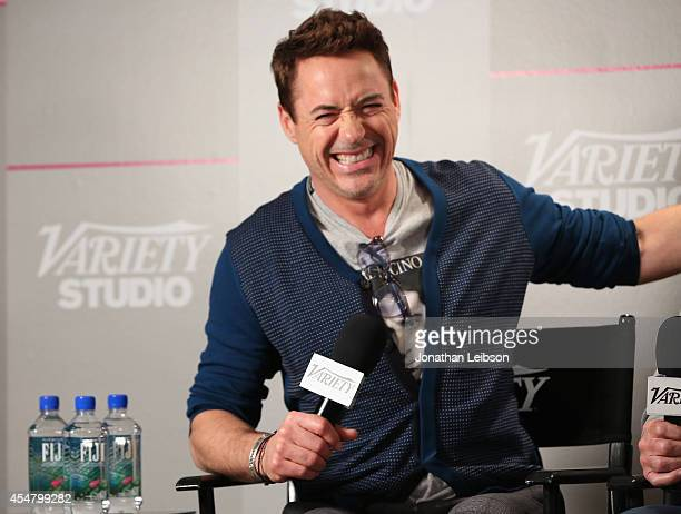 Actor Robert Downey Jr. Attends day 2 of the Variety Studio presented by Moroccanoil at Holt Renfrew during the 2014 Toronto International Film...