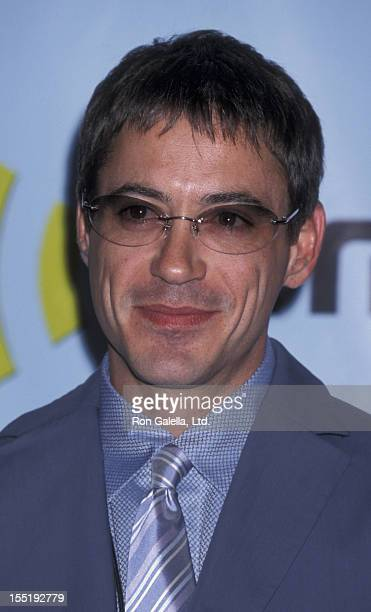 Actor Robert Downey Jr attends Radio Music Awards on October 26 2001 at Aladdin Resort and Casino in Las Vegas Nevada