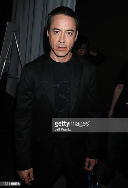 Actor Robert Downey Jr attends Spike TV's 2nd Annual Guys Choice Awards at Sony Studios on May 30 2008 in Culver City California