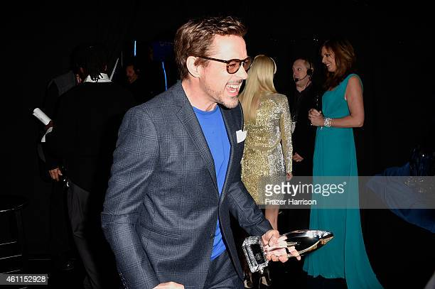 Actor Robert Downey Jr attends The 41st Annual People's Choice Awards at Nokia Theatre LA Live on January 7 2015 in Los Angeles California