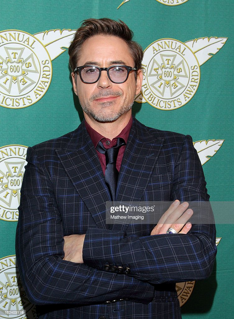 Actor Robert Downey Jr attends the 50th Annual ICG Publicists Awards which took place at The Beverly Hilton Hotel on February 22, 2013 in Beverly Hills, California.