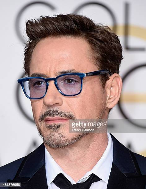 Actor Robert Downey Jr attends the 72nd Annual Golden Globe Awards at The Beverly Hilton Hotel on January 11 2015 in Beverly Hills rCalifornia