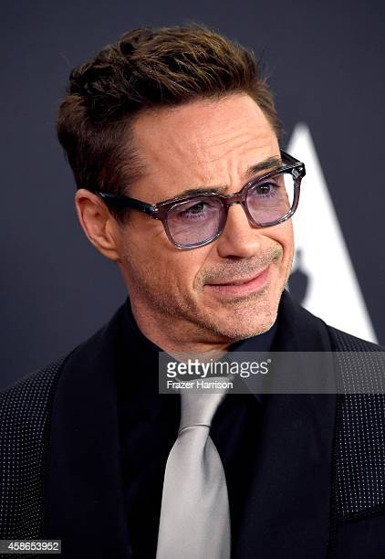 Actor Robert Downey Jr attends the Academy Of Motion Picture Arts And Sciences' 2014 Governors Awards at The Ray Dolby Ballroom at Hollywood Highland...