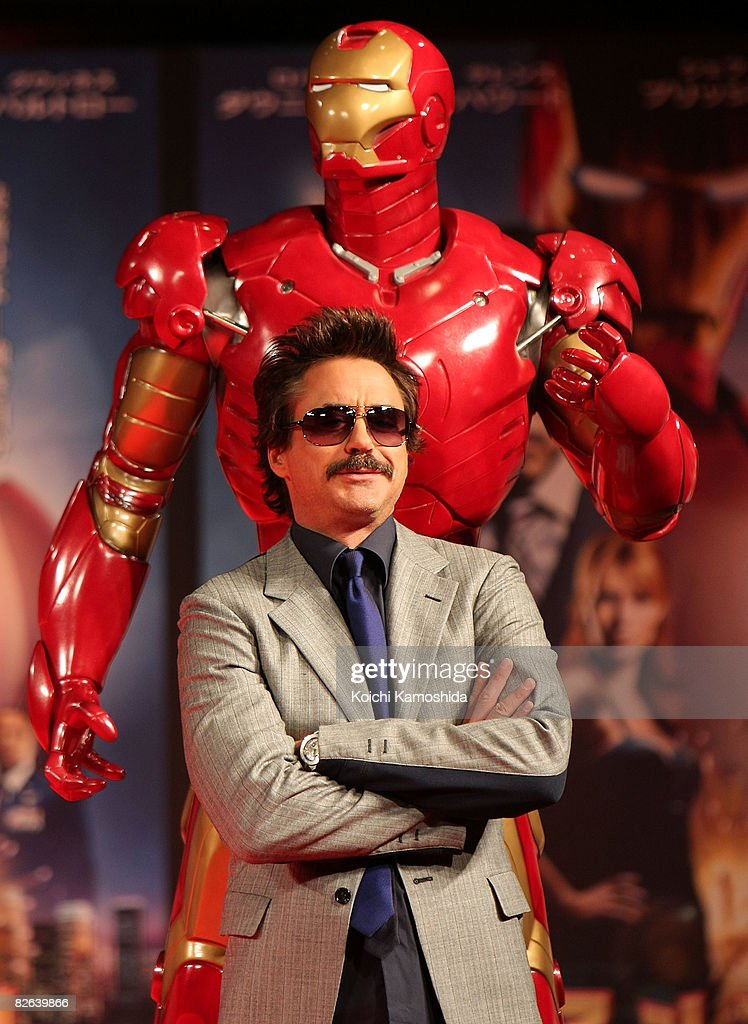 """Iron Man"" Press Conference"
