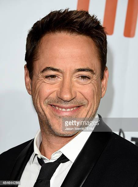 Actor Robert Downey Jr attends The Judge gala premiere during the 2014 Toronto International Film Festival at Roy Thomson Hall on September 4 2014 in...