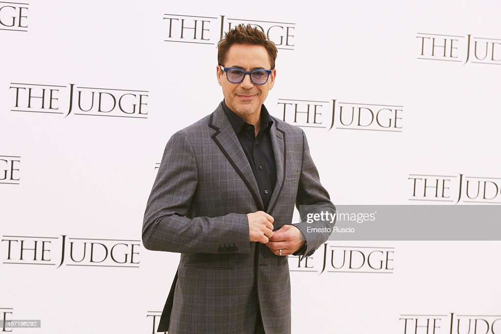 'The Judge'-Rome Photocall : News Photo